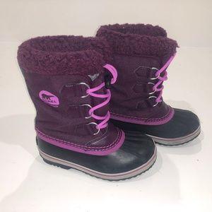 Sorel Yoot Pac Nylon Waterproof Boots NY1879 Youth